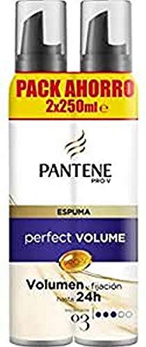 Pantene, Mousse y espuma (Duplo Pack), 2 x 250ml