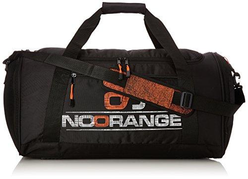 NoOrange Sporttasche schwarz, sportliche Schultertasche für Freizeit und Reisen Tasche, XL