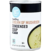 Amazon Brand - Happy Belly Healthy Request Cream of  Mushroom Soup 10.5 Oz