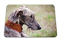 22cmx18cm マウスパッド (犬の顔の目の色) パターンカスタムの マウスパッド