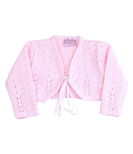 Babyprem Babykleidung Bolero Jäckchen Pullover 62 / 68cm ROSA