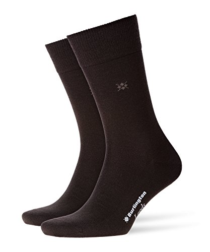 Burlington Herren Socken Leeds M SO, Braun (Brown 5930), 40-46 (UK 6.5-11 Ι US 7.5-12)