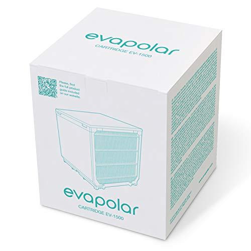 Evapolar Ersatz-Verdunstungskartusche für evaLIGHT Plus Personal Luftkühler + Luftbefeuchter
