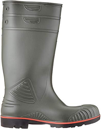 Dunlop A442631 S5 ACIF.KNIE GROEN 44, Unisex-Erwachsene Langschaft Gummistiefel, Grün (Groen) 08), 47 EU (12 UK)