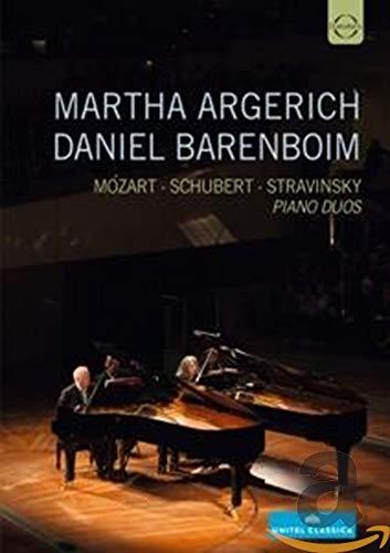 Argerich & Barenboim: Piano Duos (Philharmonie Berlin 2014) [DVD]