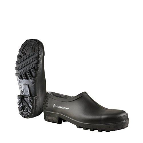 Dunlop Protective Footwear Unisex-Erwachsene Monocolour Wellie Gummistiefel Clogs, Schwarz (black), 43 EU