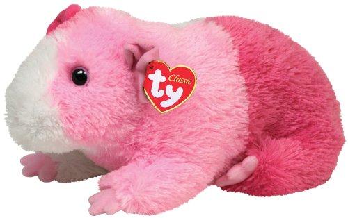 TY 70037 - Pinky - Meerschweinchen, 33 cm, pink