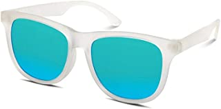 Hipsterkid BPA Free, Warranty Protected, Polarized Sunglasses for Babies, Ages 3-6, in Frost from The Golds Collection