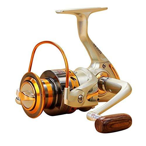 HXF- Línea balsa Carrete de Pesca Spinning Wheel Lu Yaji Pesca Largo de Pesca a tiros Hielo Lanzar Barra Carrete de Pesca Pesca Precisión (Size : 5000)