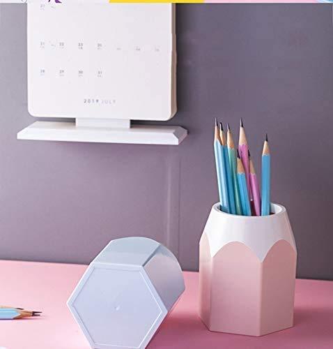 Wisedeal Creative Pencil Tip Design Pen Holder (Pink) (1, Pink) Photo #3