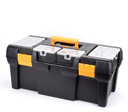 Werkzeugkoffer leer Werkzeugkasten Werkzeug Angel Box Kiste groß XXL Kunststoff