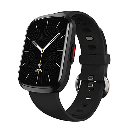 Relojes inteligentes para hombres y mujeres, pantalla táctil completa de 1.57 ', reloj inteligente para teléfonos Android y teléfonos iOS, podómetro a prueba de agua IP67, reloj Fitness Tracker con