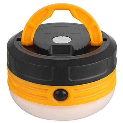 RONGW JKUNYU La iluminación Exterior, 3 LED portátil magnética de luz de Camping al Aire Libre Senderismo Pesca Carpa lámpara de la Linterna