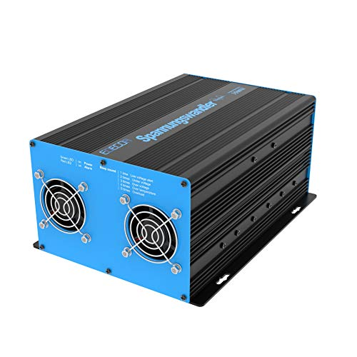 EDECOA Spannungswandler 12V 230V Reiner Sinus 3500W Wechselrichter 12V 220V mit USB und Fernbedienung Power Inverter Pure Sine Wave 3000w