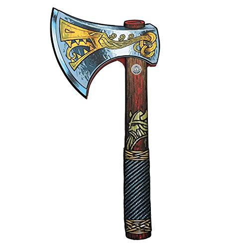 Liontouch 50004LT Mittelalter Wikinger Spielzeug Schaumstoff Axt | Teil von Kostüm mit Schild und Helm
