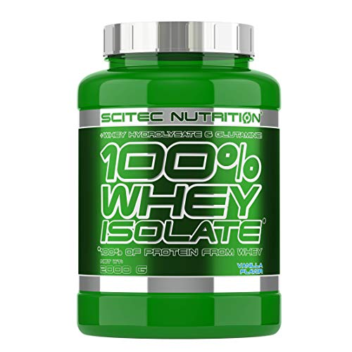 Scitec Nutrition 100% Whey Isolate, 2000 grammi, Vaniglia
