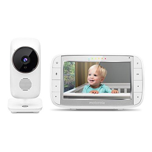 Motorola MBP48 - Monitor para bebés con Video digital y pantalla a color de 5 pulgadas