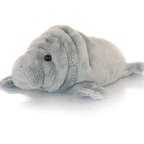 Sootheze Manatee Scented Stuffed Animal Toy – Microwavable Hot Cold Stuffed Toy