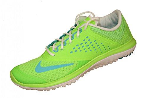 Nike WMNS FS LITE Run 2 Sneaker 684667 Neongelb 301 Running, Farbe:Neongelb, Größe:35.5