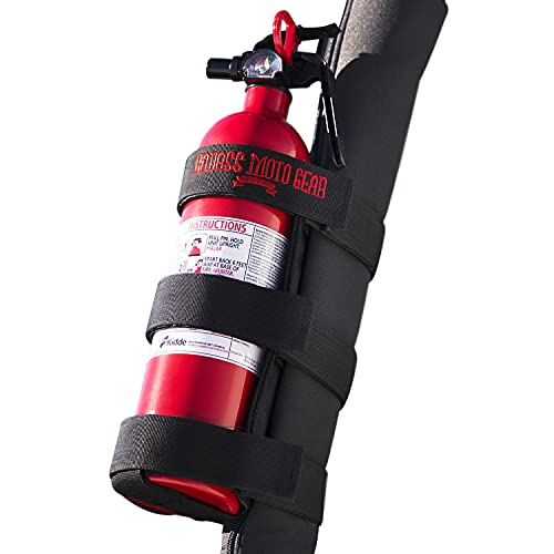 Badass Moto Jeep Fire Extinguisher Mount For Roll Bars