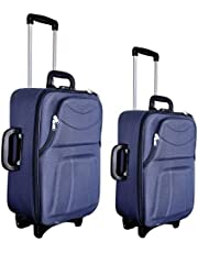 New Jersey Travellers Polyester Set of 2 Blue Softside Troll