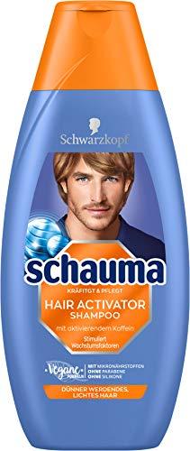 SCHWARZKOPF SCHAUMA Shampoo Hair Activator, 1er Pack (1 x 400 ml)