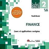 Finance DSCG 2 - Cours et applications corrigées