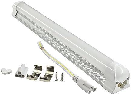 Pack of 2 LUMINTURS LED 即納最大半額 Tube Integrated 買収 Light Ceiling Holder Bar