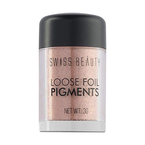 Swiss Beauty Loose Foil Pigments Eyeshadow, Eye MakeUp, Shade-06, 3g