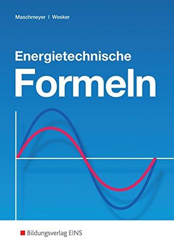 Energietechnische Formeln: Formelsammlung