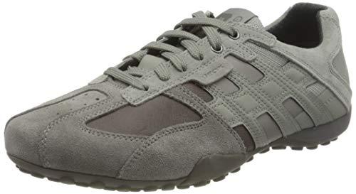 Geox Herren UOMO SNAKE K Sneaker, Stone/Grau, 39 EU