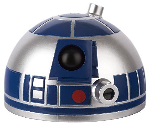 Joy Toy 21486 R2-D2 Sveglia a Cupola con Suoni Originali e Proietta l'Ora
