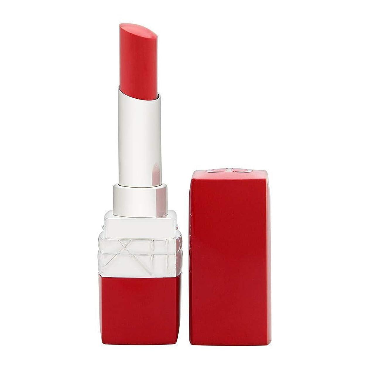 連続したリスペンクリスチャンディオール Rouge Dior Ultra Rouge - # 555 Ultra Kiss 3.2g/0.11oz並行輸入品