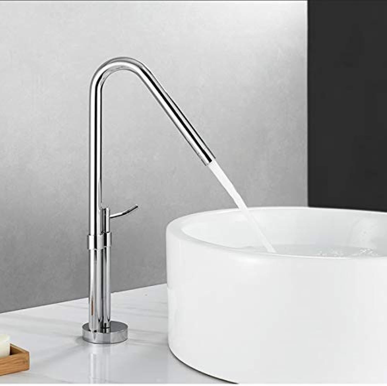 TVOVT Waschtischarmatur, Küchen-   WC-Waschtischarmatur aus massivem Messing, nickel gebürstet, bleifrei (Farbe   B)