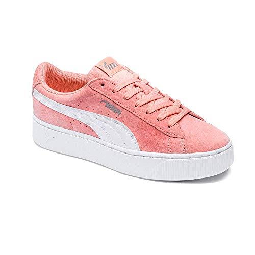 Puma Damen Vikky Stacked Sd Sneaker, Rosa (Peach Bud-Puma White 07), 38.5 EU