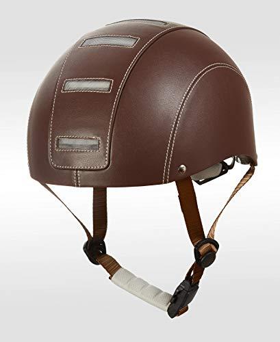 Halo Urban - Casco para Bicicleta Unisex para Adultos, Chocolate, 54-58 cm