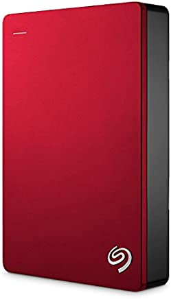 Seagate Backup Plus Portable 5TB External Hard Drive HDD – Red USB 3.0 for PC Laptop and Mac, 2 Months Adobe CC Photography (STDR5000103)