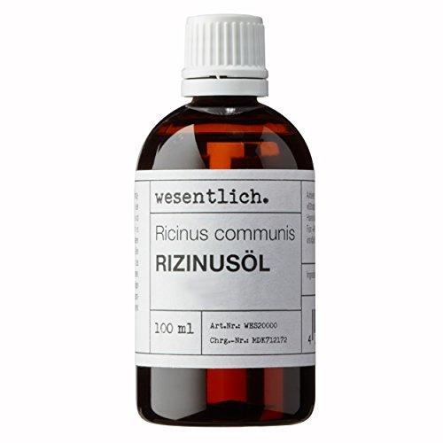 Rizinusöl kaltgepresst 100ml - 100% reines Rizinusöl (Ricinus communis) von wesentlich.
