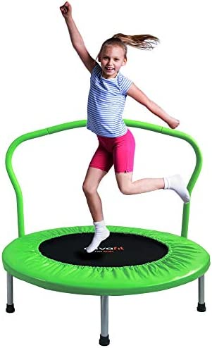 ATIVAFIT 36 Inch Folding Trampoline Mini Rebounder Suitable for Indoor and Outdoor use for Two product image