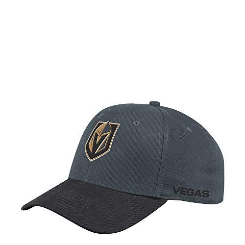 adidas Vegas Golden Knights 2019/20 NHL Coach Flex Fit NHL Cap, L/XL