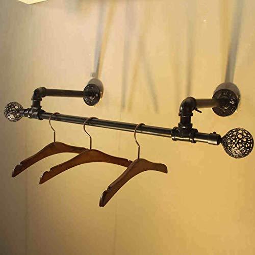 DGDG Planchar la Ropa Estante de Tubos de Pared Perchero Comercial de Ropa Estante de exhibición for el hogar, Venta al por Menor (Size : 120 * 30cm)