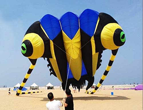 SDCVRE Drachen Trilobite Beach weicheeinleiner Drachen fliegen große aufblasbare Drachen Ripstop Nylon, 16 quadratmeter