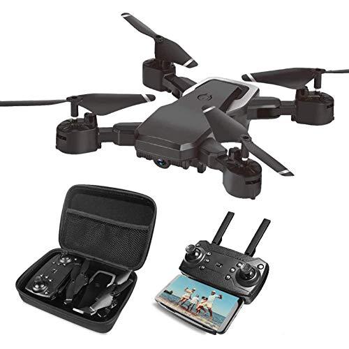Drone pieghevole con fotocamera per bambini adulti, Quadricottero RC con telecomando HD FPV 2 MP per bambini Principianti Ragazzi Giocattoli Regali, Controllo dei gesti, Aereo volante senza testa