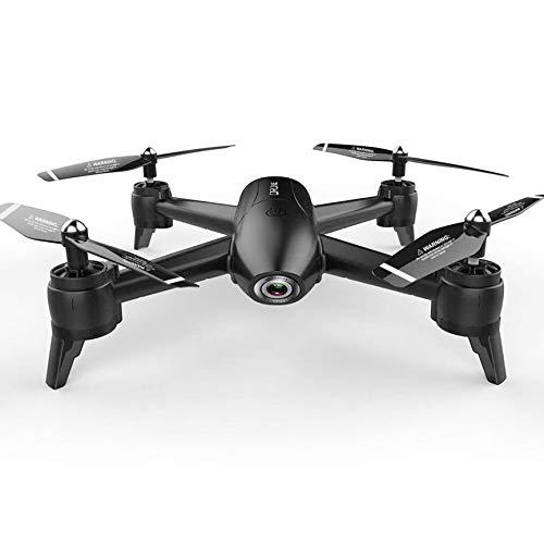 Peanutaso SG106 RC Drone con cámara Dual 4K HD FPV WiFi Video aéreo en Tiempo Real Flujo óptico RC Quadcopter Helicopter 3 Baterías