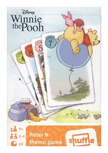 Cartamundi Kartenspiel, kompatibel zu Disney Winnie Pooh Spiel Schwarzer Peter & Memo | Geschenk für Kinder | Jungen | Mädchen | Tiger | Ia
