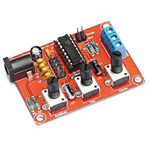 『KKmoon XR2206 信号発生器 高精度 ファンクション信号発生器 DIYキット 正弦/三角/正方形 出力1Hz〜1MHz 周波数振幅調整可能』の4枚目の画像