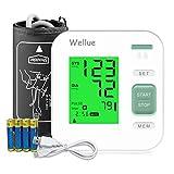 Wellue B02 Blutdruckmessgerät Oberarm, digitales automatisches Blutdruckmessgerät für den...