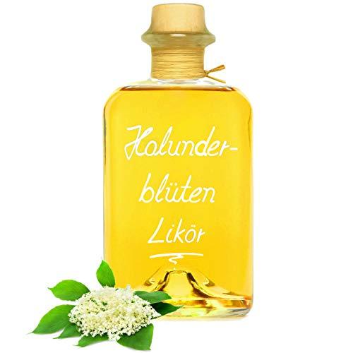 Holunder Blüten Likör 0,7L mit wunderbarem Holunderaroma 22% Vol Holunderblütenlikör Apothekerflasche