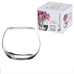 Idea Regalo - Pasabahce 43407 Globe Vaso Vetro, 9.9 cm, Trasparente
