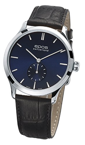 Epos Collection originale 3408, Blu Ø 39 mm – Molto Piatta Di